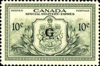 """[Stamps of 1946-1953 Overprinted """"G"""", type E9]"""
