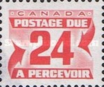 [Numeral Stamps - Size: 20 x 16mm, Typ E18]