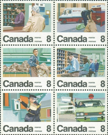 [The 100th Anniversary of the Canadian Letter Carrier Delivery Service, Typ ]