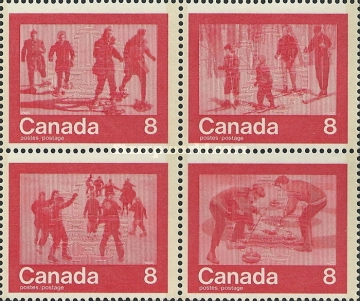 [Olympic Games - Montreal 1976, Canada -  Winter Activities, Typ ]