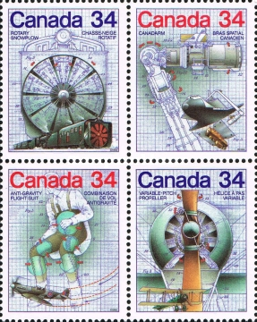 [Canada Day - Science and Technology - Canadian Inventions, Typ ]