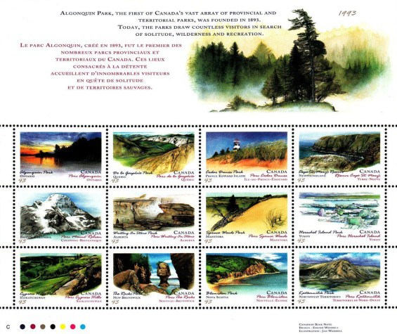[Canada Day - Provincial and Territorial Parks, Typ ]