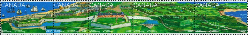 [The 275th Anniversary of Fortress of Louisbourg, Typ ]
