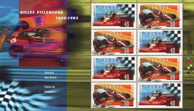 [Formula One - The 15th Anniversary of the Death of Gilles Villeneuve, Typ ]