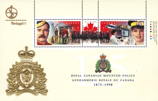 [The 125th Anniversary of Royal Canadian Mounted Police, Typ ]