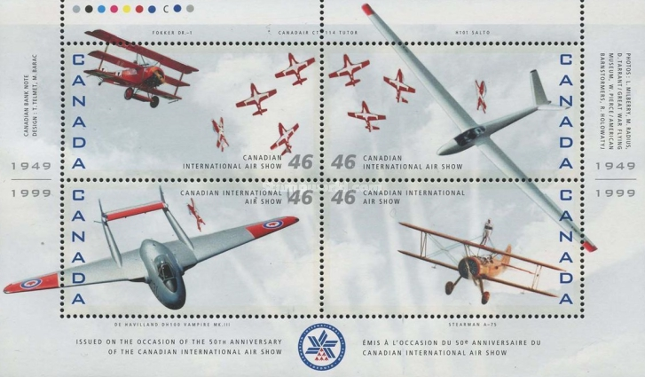 [The 50th Anniversary of Canadian International Air Show, Typ ]