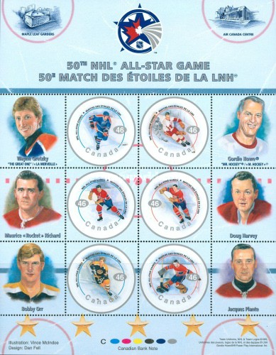 [The 50th Anniversary of the NHL All-Star Game, Typ ]