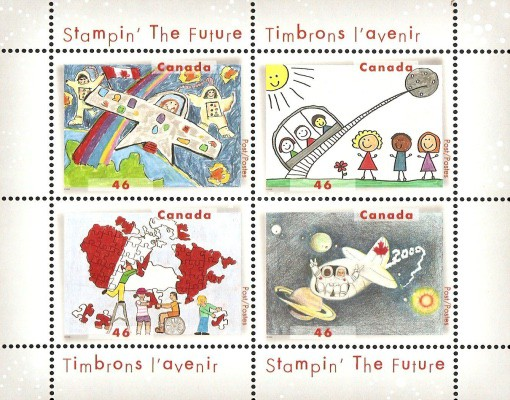 """[""""Stampin' the Future"""" - Children's Stamp Design Competition, Typ ]"""