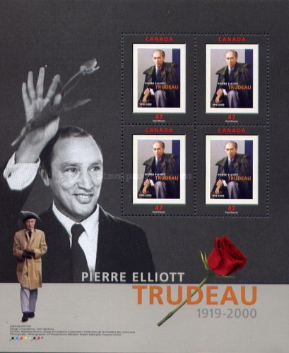 [Pierre Trudeau (Former Prime Minister) Commemoration, Typ ]