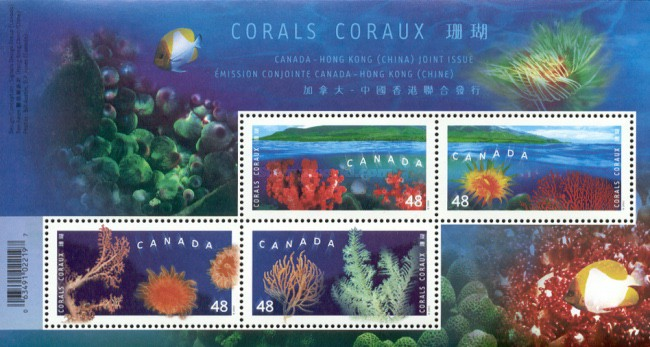 [Joint Issue with Hong Kong - Corals, Typ ]