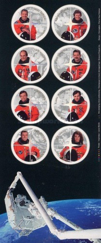 [Canadian Astronauts - Self-Adhesive, Typ ]