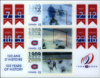 [The 100th Anniversary of Montreal Canadiens, Typ ]
