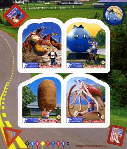 [Roadside Attractions - Self Adhesive Stamps, Typ ]