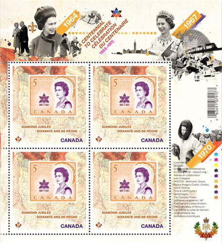 [Queen Elizabeth II - A Centennial to Celebrate, 1963-1972, Typ ]