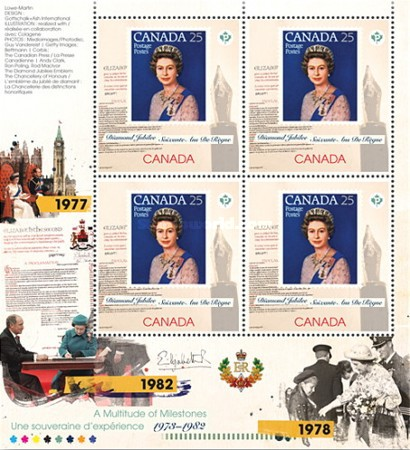 [Queen Elizabeth II - A Multitude of Milestones, 1973-1982, Typ ]