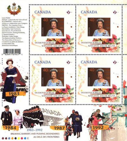 [Queen Elizabeth II - Breaking Barriers and Pushing Boundaries, 1983-1992, Typ ]