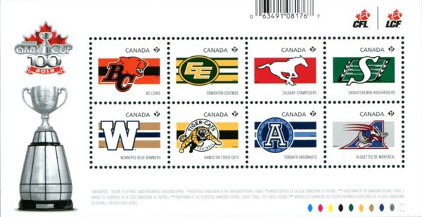 [Canadian Football - The 100th Anniversary of the Grey Cup, Typ ]