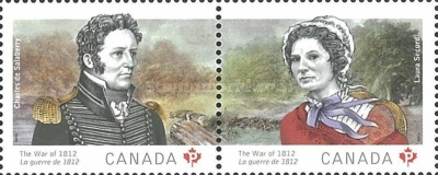 [The War of 1812 - Laura Secord & Charles de Salaberry, Typ ]