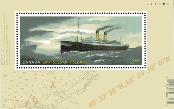 [The 100th Anniversary of the RMS  Empress of Ireland, Typ ]