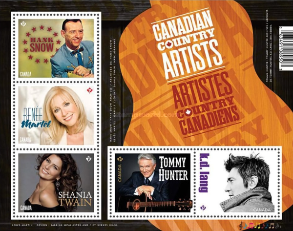 [Canadian Country Artists, Typ ]