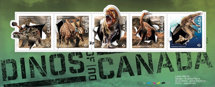 [Prehistorical Animals - Dinosaurs of Canada, Typ ]