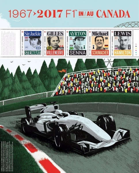 [The 50th Anniversary of F1 in Canada, type ]