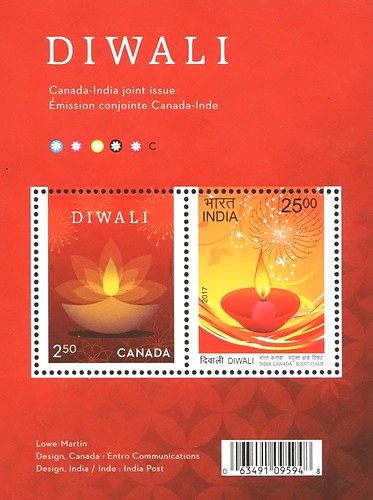 [Diwali - Joint Issue with India, type ]
