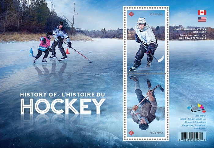 [The History of Hockey - Joint Issue with USA, Typ ]