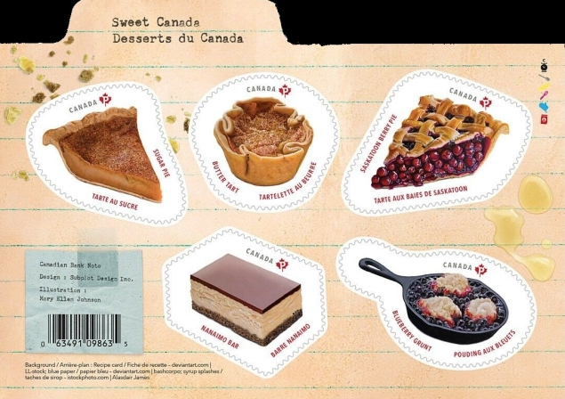 [Gastronomy - Traditional Canadian Desserts, type ]