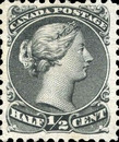 [Queen Victoria - Size: No. 1-1C 17 x 21 mm, No. 2-3a: 20 x 24mm. For Earlier Issues, see British Canada, Typ A1]