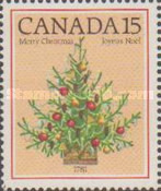 [Christmas - The 200th Anniversary of the First Illuminated Christmas Tree in Canada, type AAU]