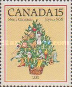 [Christmas - The 200th Anniversary of the First Illuminated Christmas Tree in Canada, type AAV]
