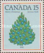 [Christmas - The 200th Anniversary of the First Illuminated Christmas Tree in Canada, type AAW]