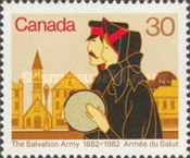 [The 100th Anniversary of the Salvation Army in Canada, Typ ABR]