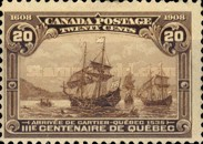[The 300th Anniversary of the Founding of Quebec, Typ AC]