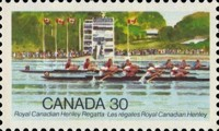 [The 100th Anniversary of the Royal Canadian Henley Regatta, Typ ACF]