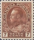 [King George V in Admiral Uniform - New Colors and Values, Typ AD13]