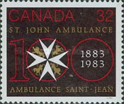 [The 100th Anniversary of Saint John Ambulance in Canada, Typ ADF]