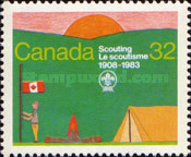 [Scouting in Canada (75th Anniversary) and the 15th World Scout Jamboree, Alberta, Typ ADS]