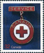 [The 75th Anniversary of Canadian Red Cross Society, Typ AEM]