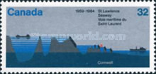 [The 25th Anniversary of St. Lawrence Seaway, Typ AEO]