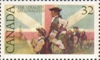 [The 200th Anniversary of the Arrival of United Empire Loyalists, Typ AFB]