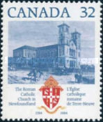 [The 200th Anniversary of the Roman Catholic Church in Newfoundland, Typ AFD]
