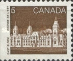 [Parliament Building - From Booklet, Typ AGE]