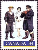 [The 75th Anniversary of Royal Canadian Navy, Typ AHL]