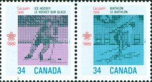 [Winter Olympic Games - Calgary 1988, Canada, Typ AIN]