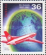 [The 50th Anniversary of Air Canada, Typ AKH]