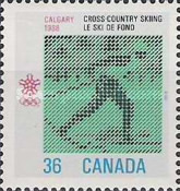 [Winter Olympic Games - Calgary 1988, Canada, Typ AKP]