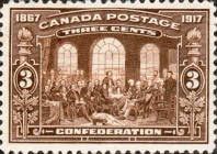 [The 50th Anniversary of the Founding of the Dominion of Canada, Typ AN]
