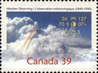 [The 150th Anniversary of Weather Observing in Canada, type APO]